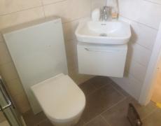 Rénovation d'une petite salle de bain à Sierre