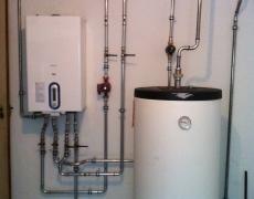 Assainissement d'une installation de chauffage dans un immeuble