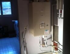 Assainissement d'une installation de chauffage à Savièse
