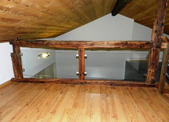 Mezzanine (coin nuit, étage)