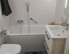 Rénovation d'une salle de bain à Muraz