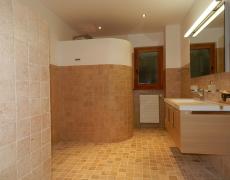 Remplacement d'une buanderie par une salle de bain à Crans-Montana