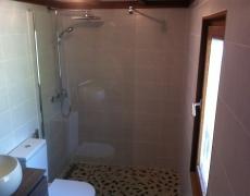Rénovation d'une salle de bain dans un mobile-home à Sierre